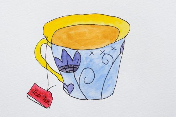 Yogi Tea Watercolour